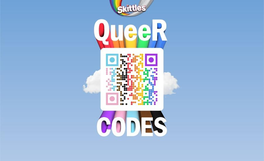 PR Activation: Skittles – Pride Month QueeR Codes