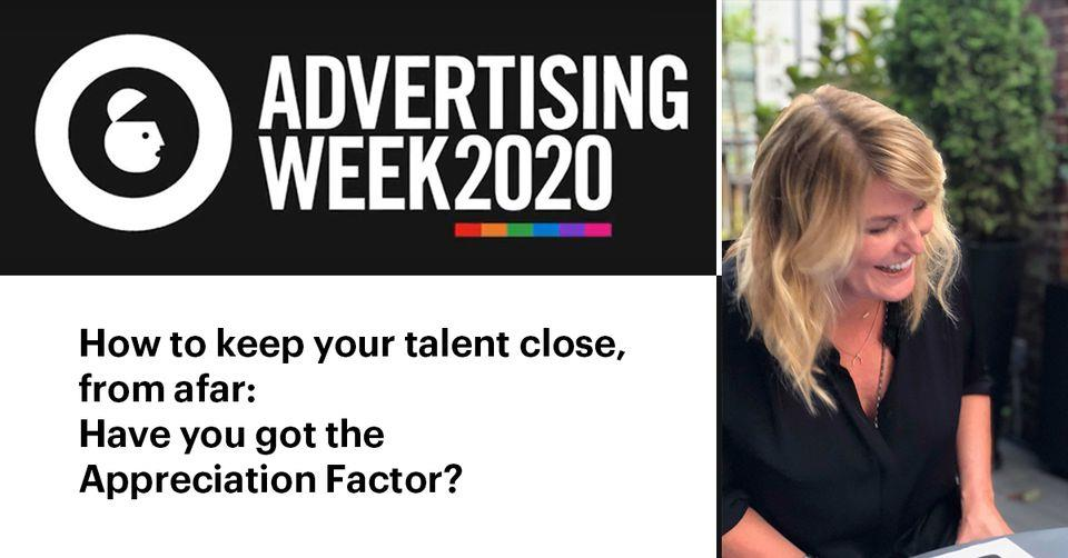 Patti McConnell @ Adweek | How to keep your talent close, from afar: have you got the Appreciation Factor?