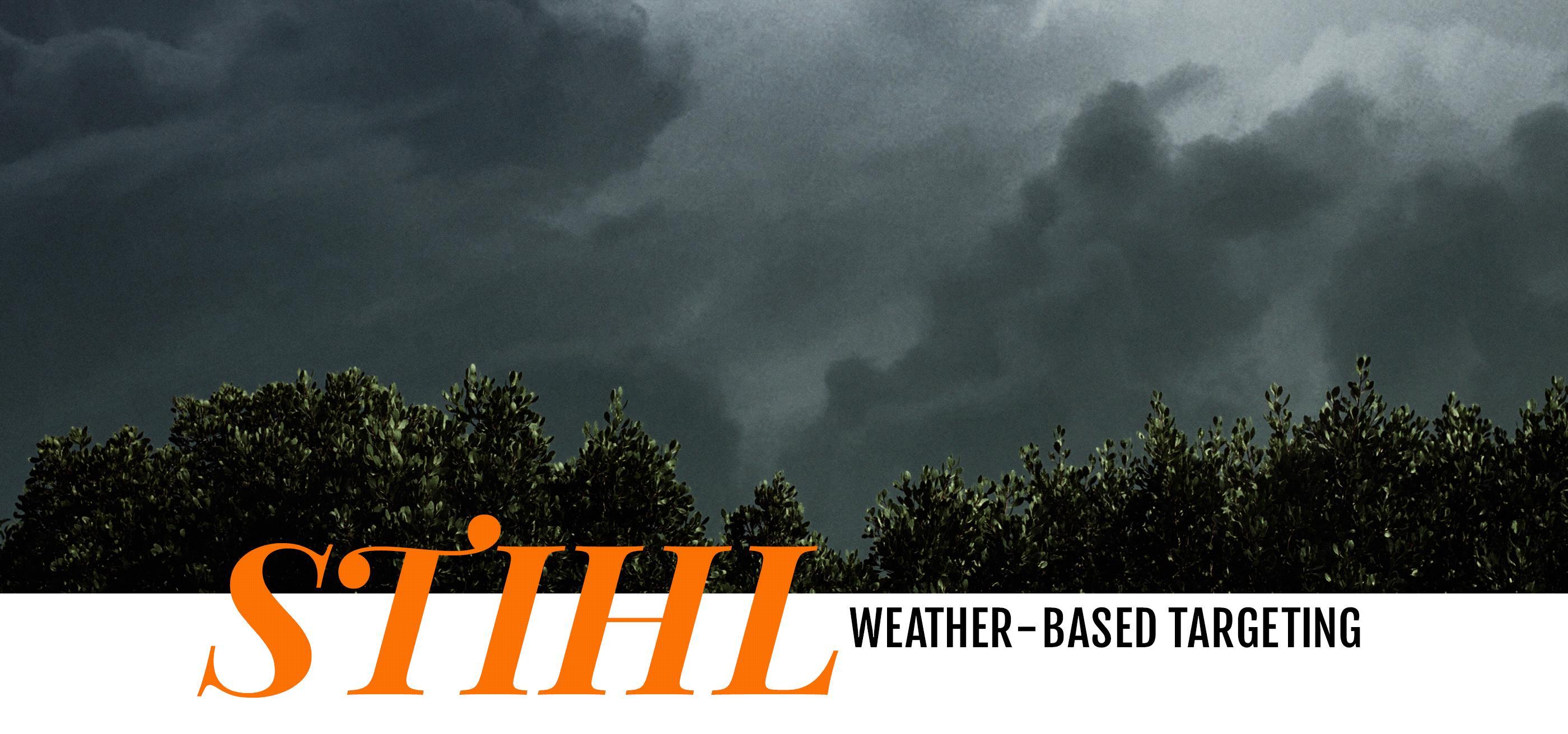 Weather-Based Social Targeting