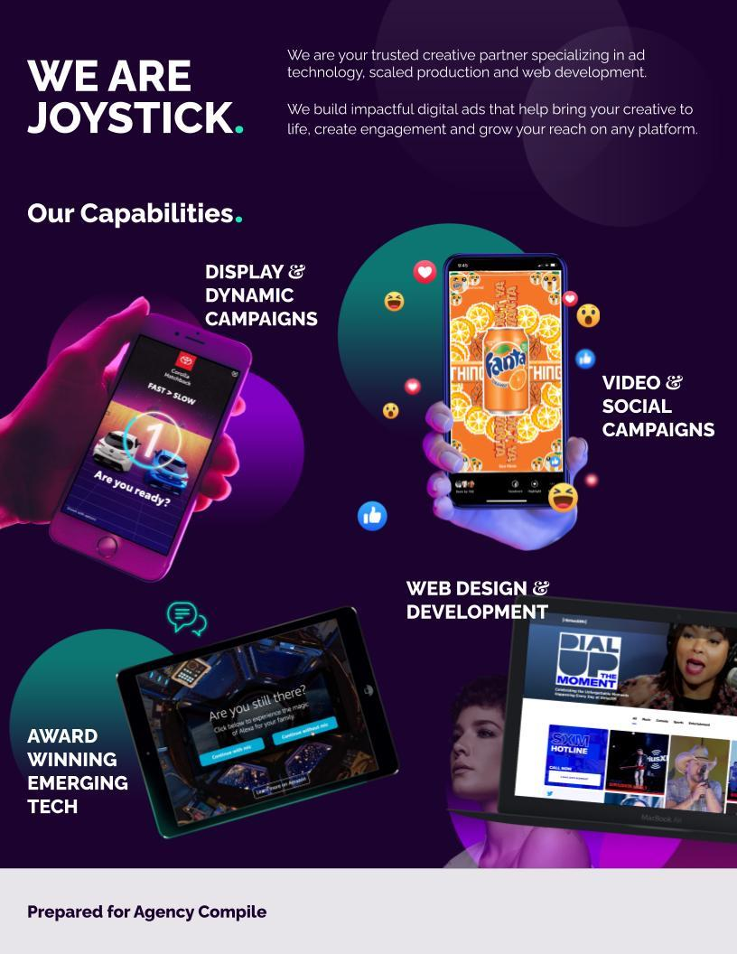 Joystick Interactive | Credentials - 2020