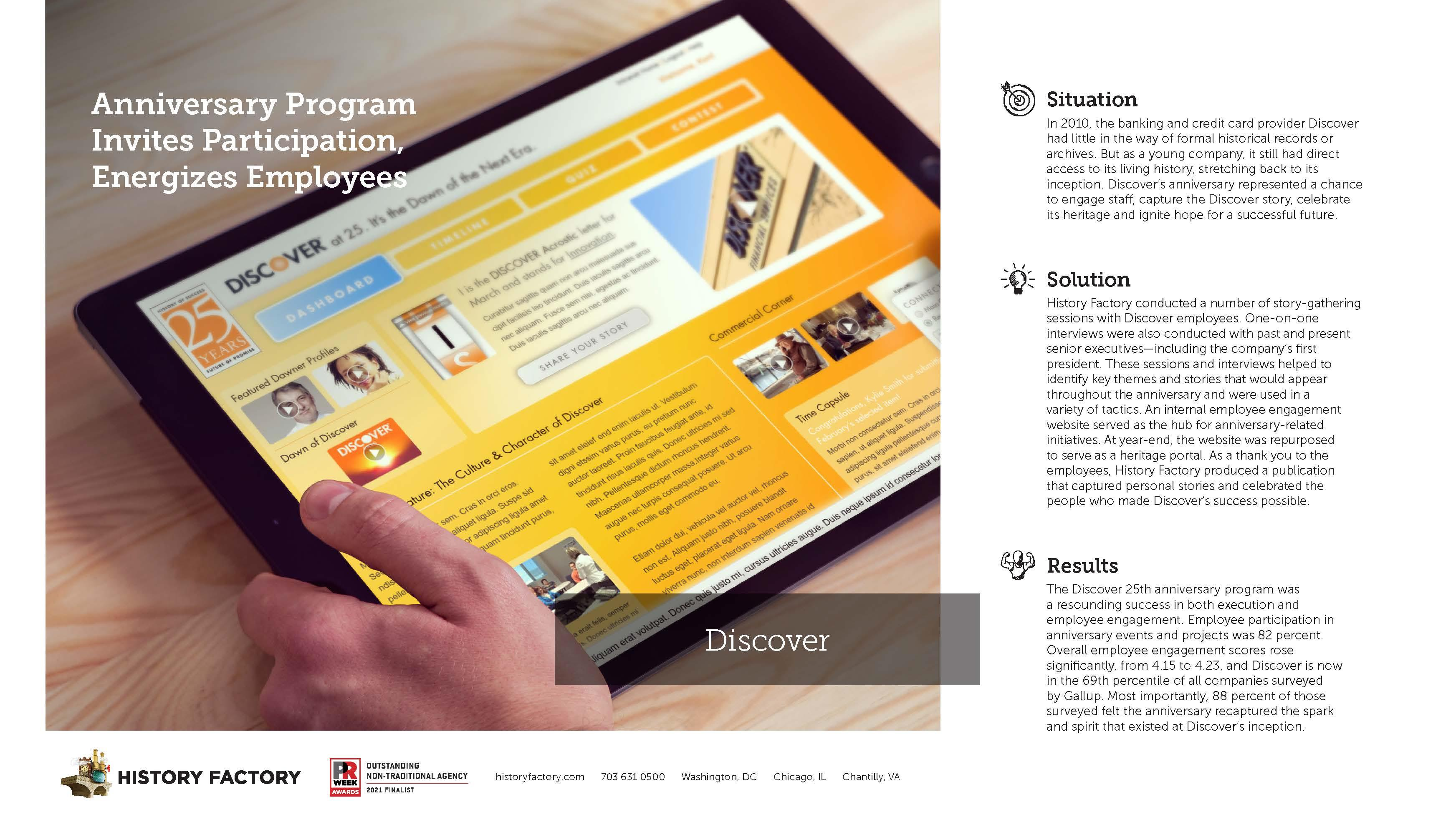 Case Study: Discover