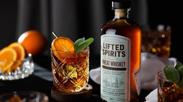 Lifted Spirits Distillery :: Lifting spirits through elevated design.