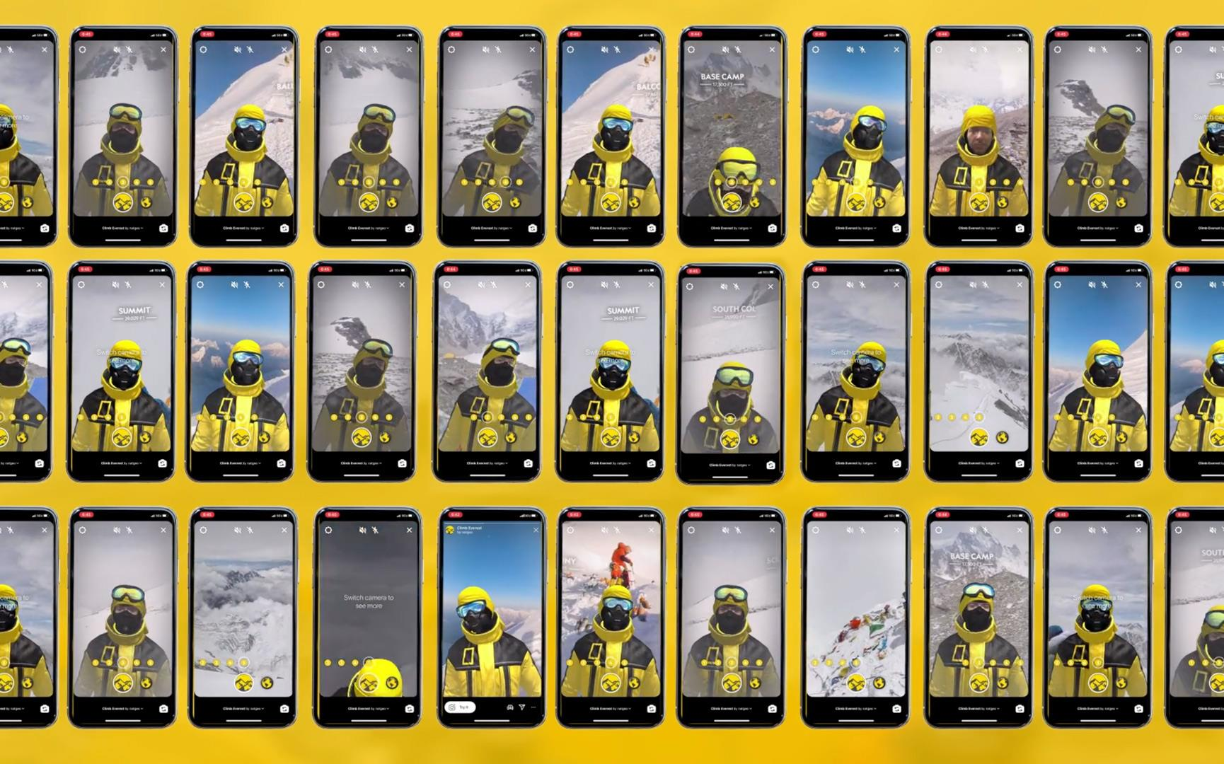National Geographic: Mount Everest Expedition AR Filter