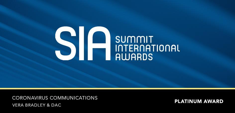2020 Summit International Awards: Coronavirus Communications | DAC