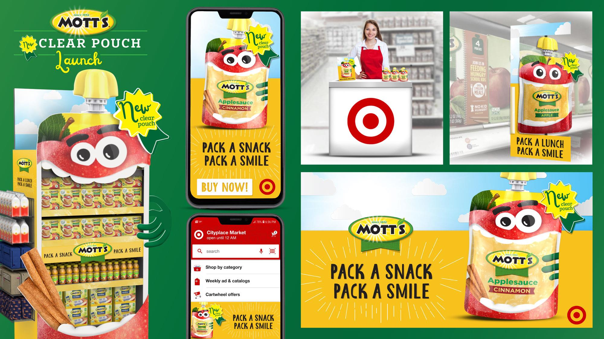 Mott's | Pack A Snack Pack A Smile