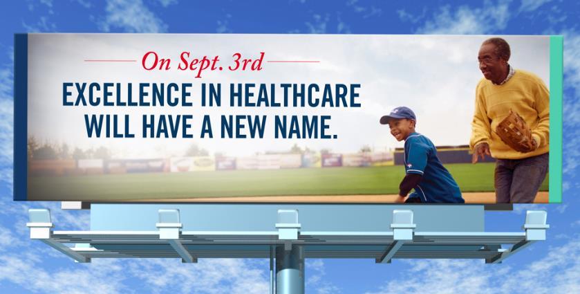 Healthcare System Rebranding
