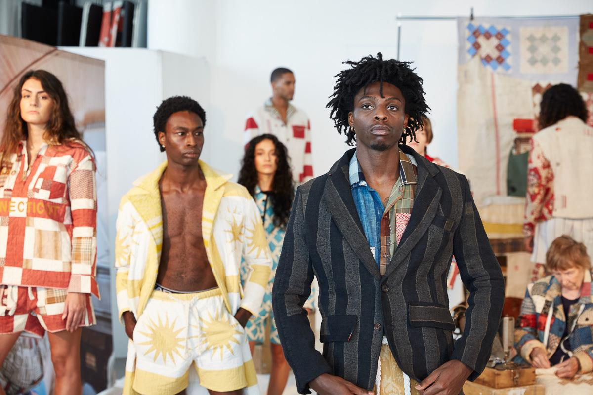 NYFW Mens Day 21 Spring / Summer 22 Collections STAN by designer Tristan Detwiler