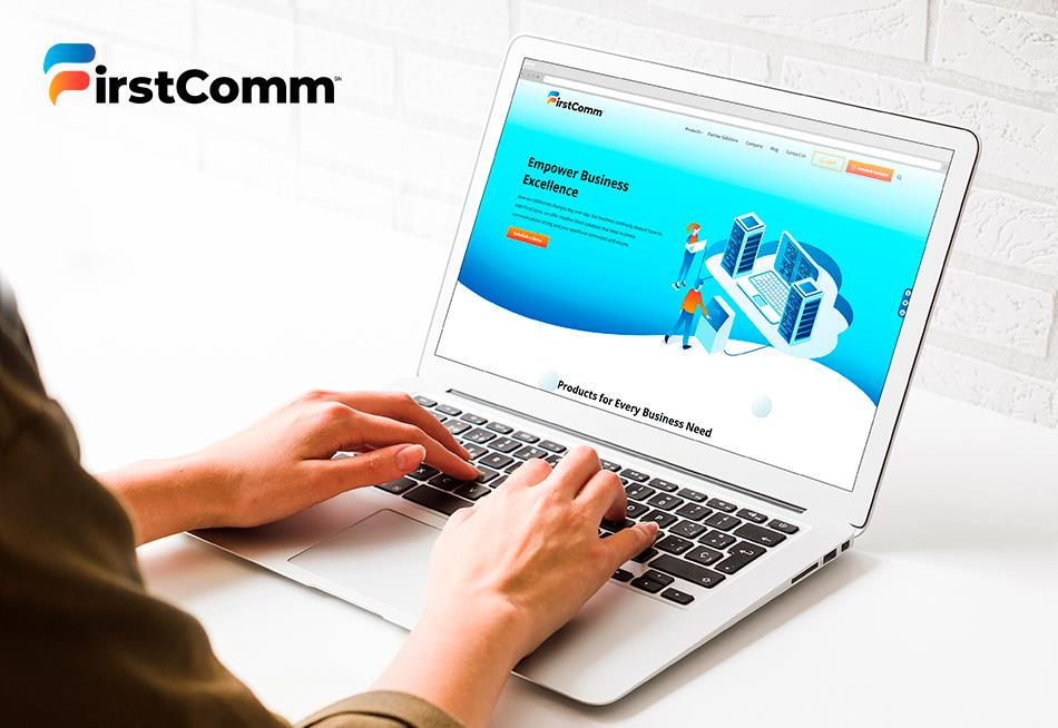 Website Redesign for FirstComm