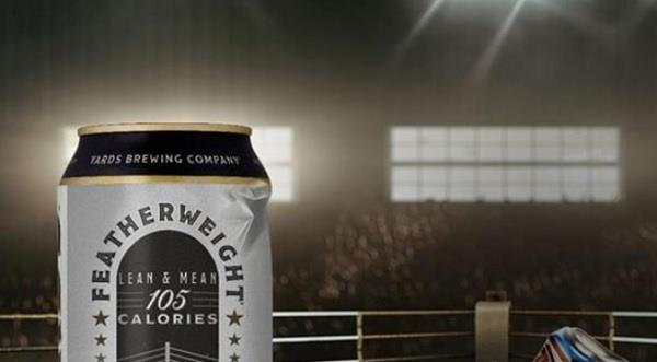 Featherweight: Brownstein Develops Brand for Yards Brewing Company's First Low-Calorie Beer