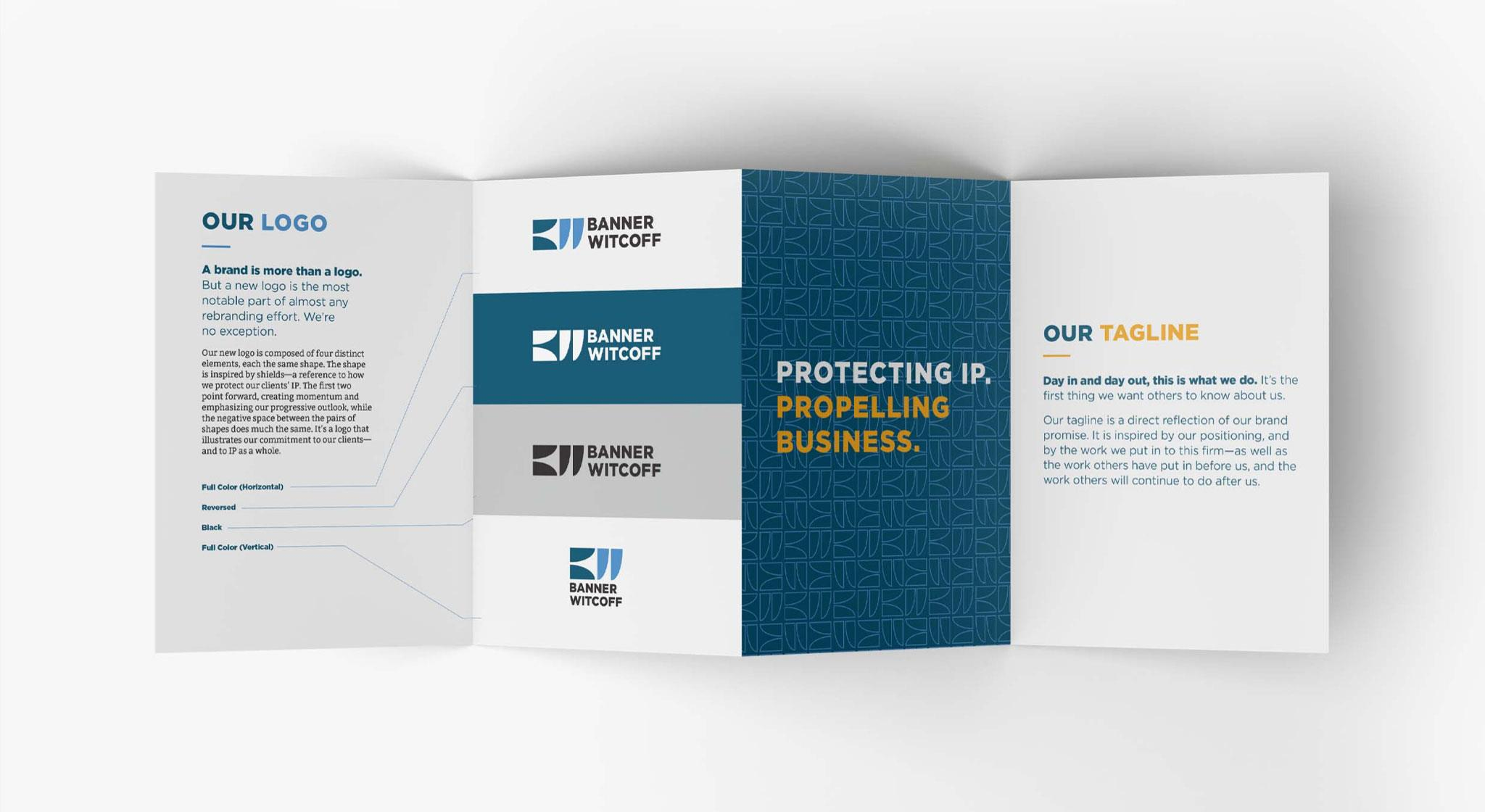 Banner Witcoff Law Firm Re-branding Case Study