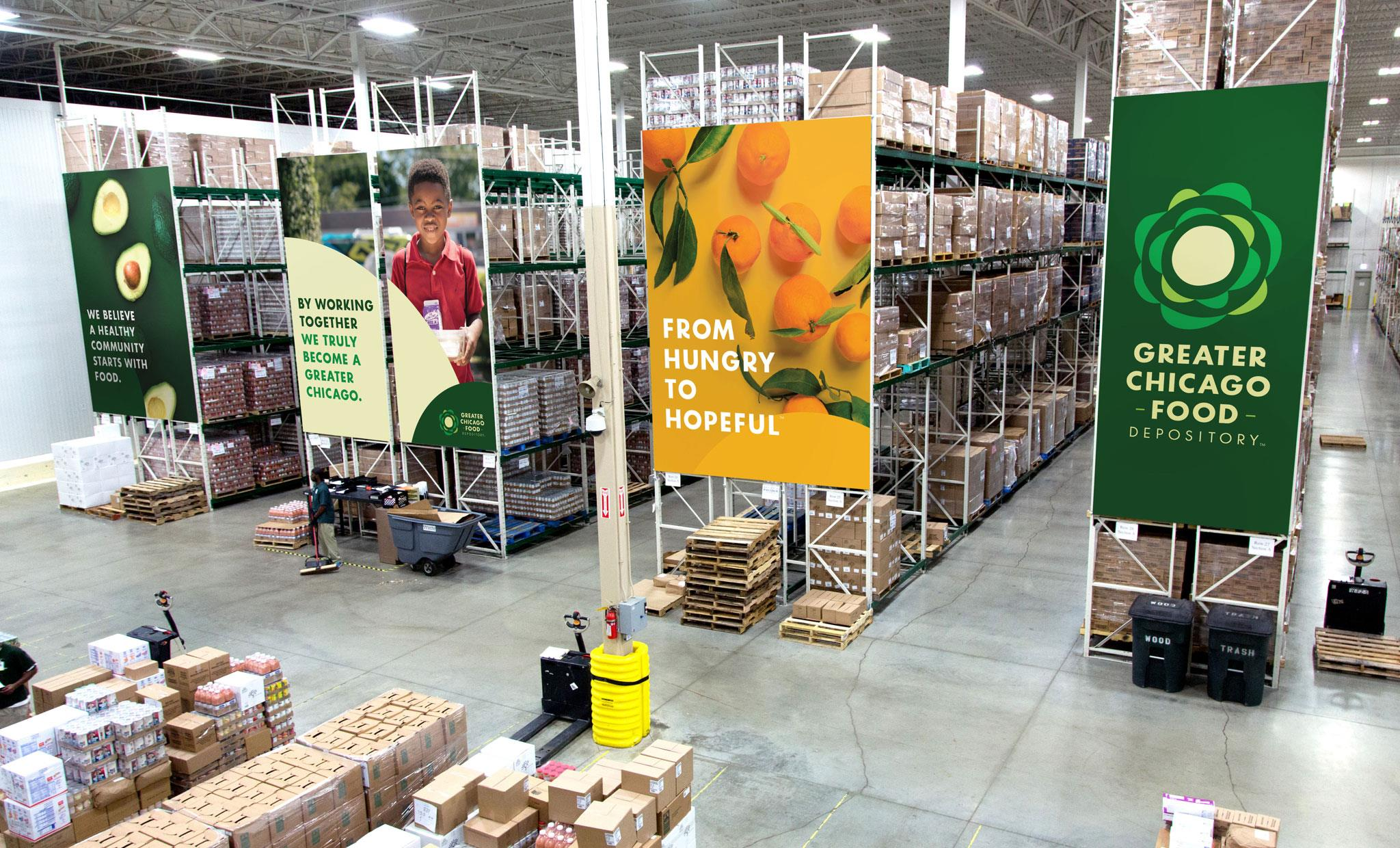 Greater Chicago Food Depository Rebrand