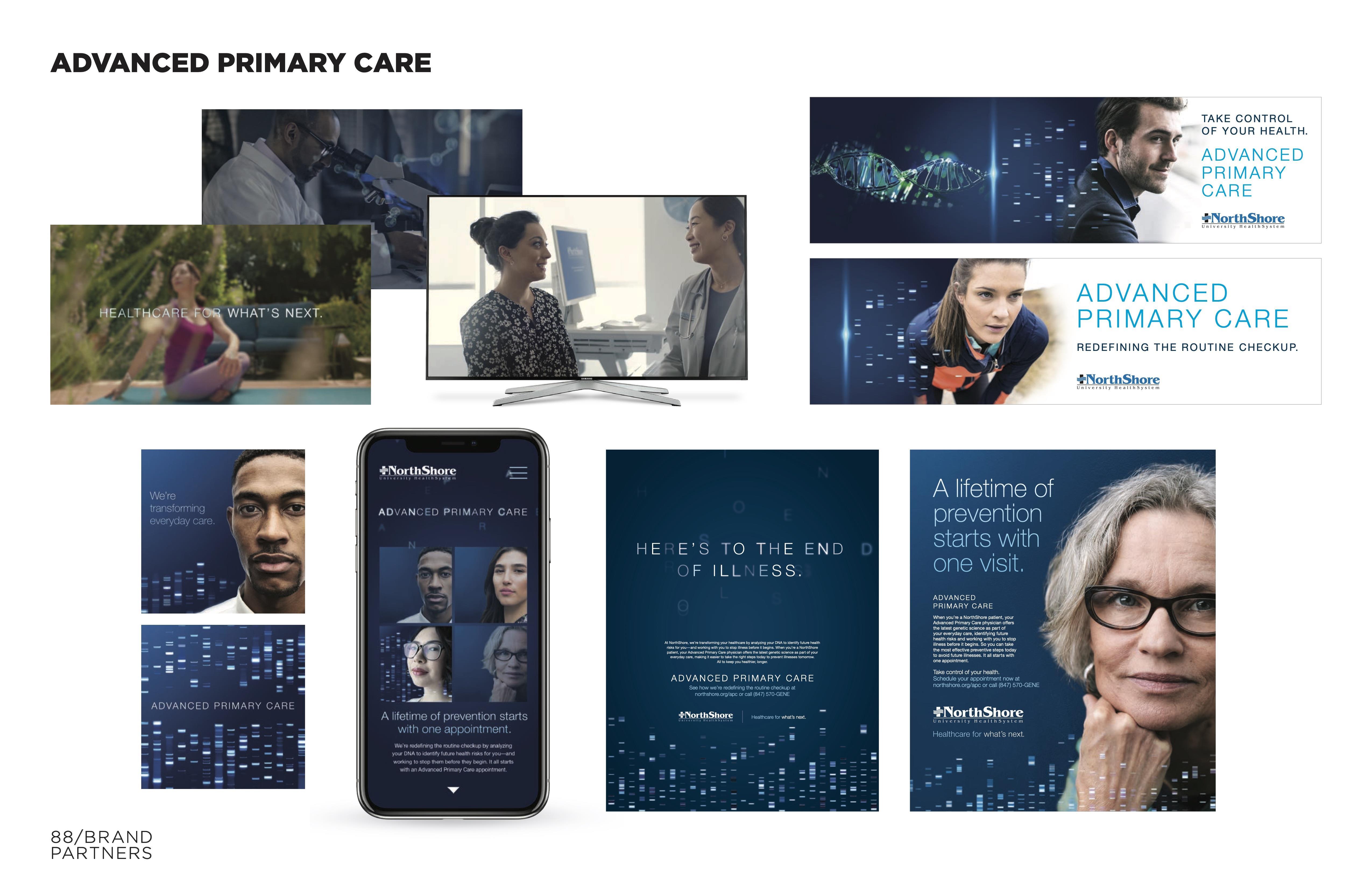 NorthShore Advanced Primary Care Campaign
