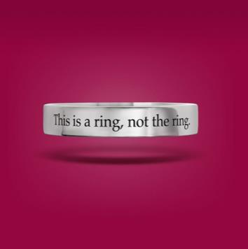"""The """"Will You?"""" Ring"""