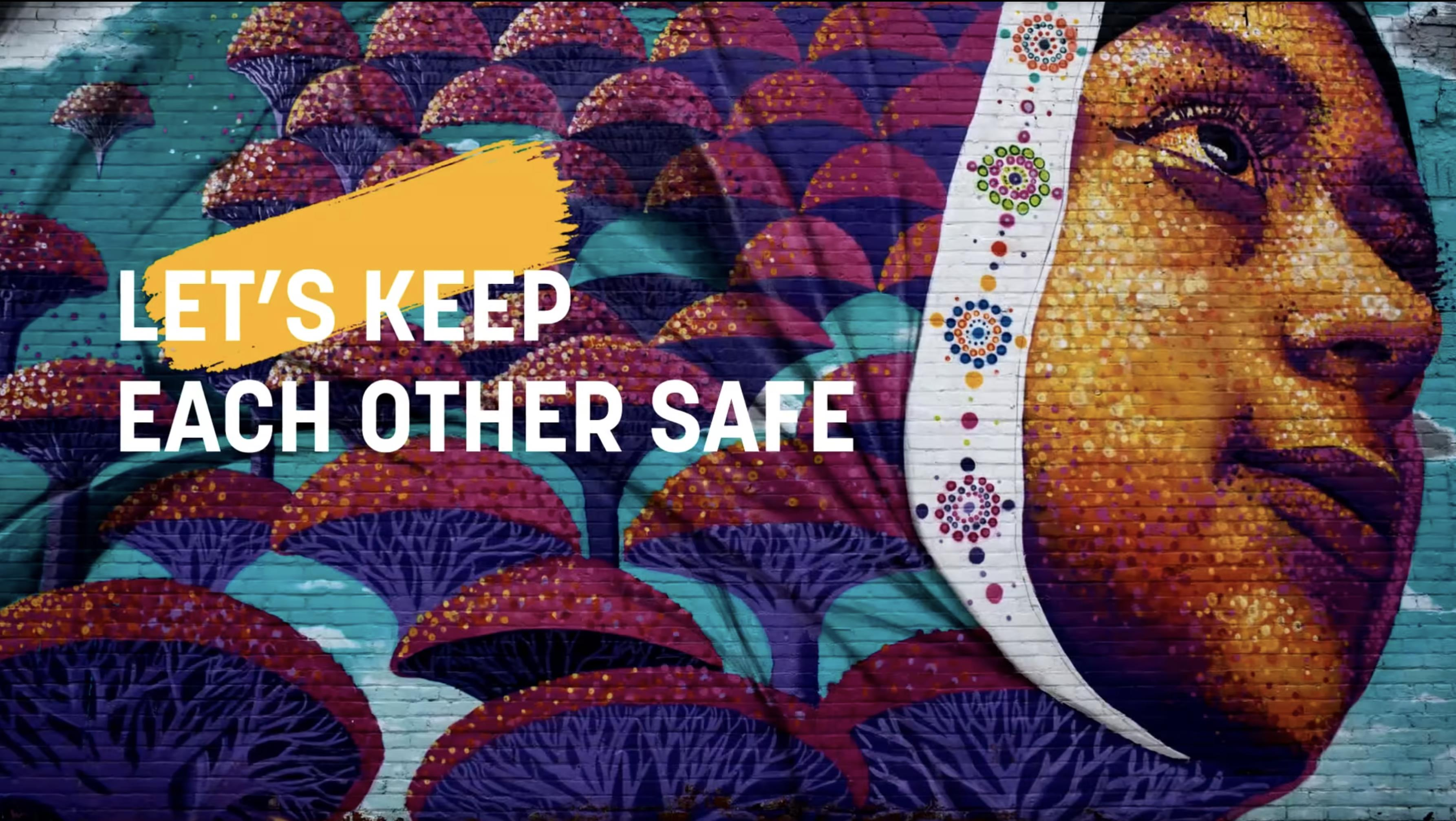 """""""Grandma Says..."""" Campaign For Covid Safety"""