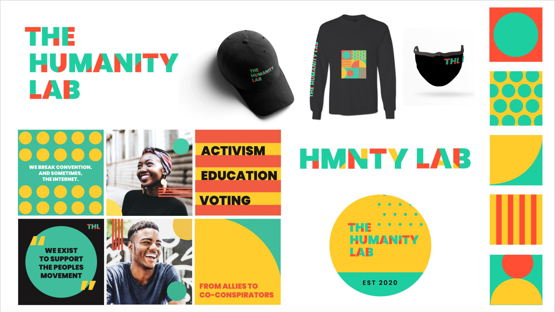 The Humanity Lab x Visual Identity