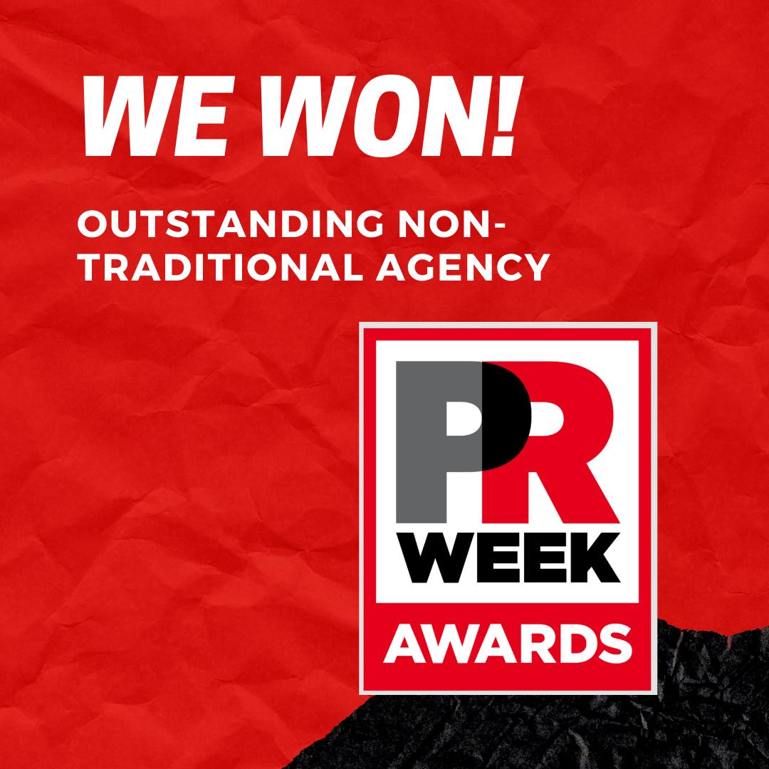Cramer-Krasselt winner of Outstanding Non-Traditional Agency at PRWeek Awards U.S. 2021 | PR Week