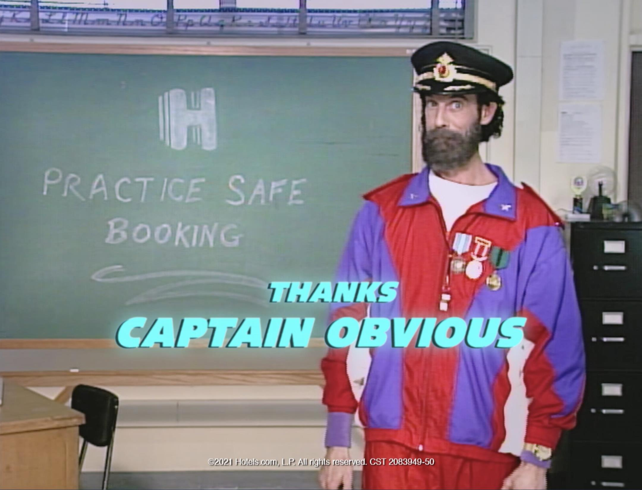 "Hotels.com ""Practice Safe Booking"""