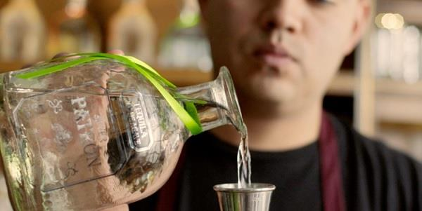 Shaking things up with Patrón Tequila.