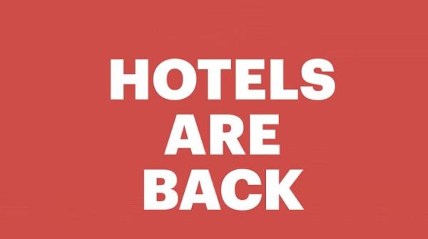 Hotels Are Back - Hotwire