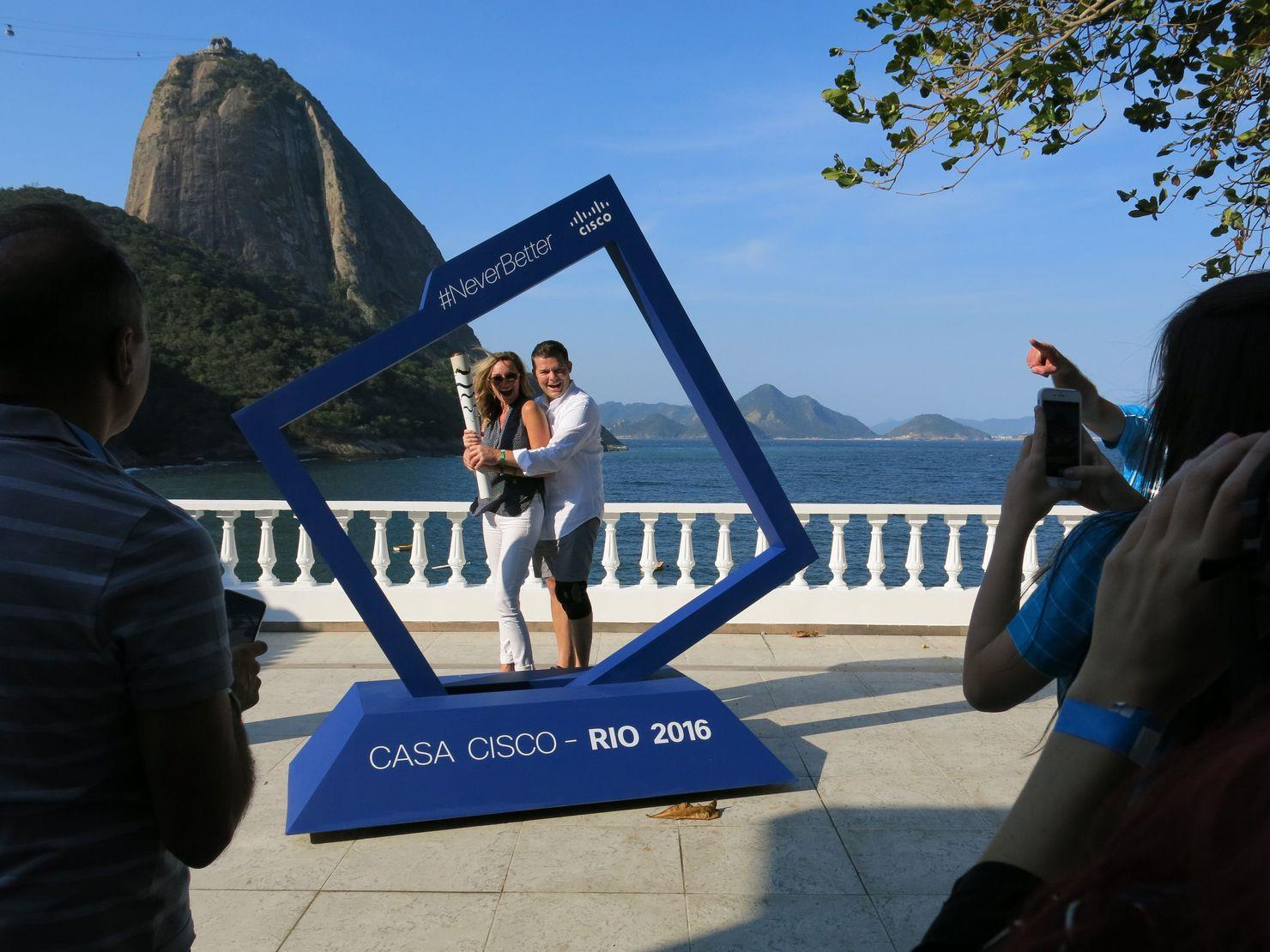 Casa Cisco at Rio Olympics
