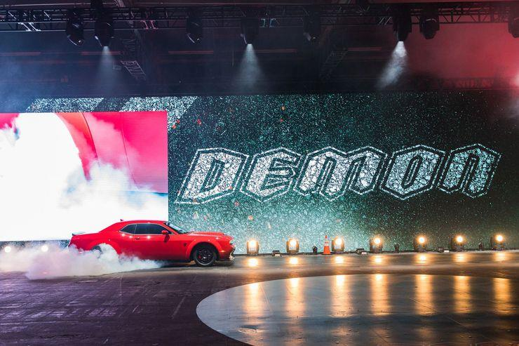 Dodge | 2018 Demon Launch