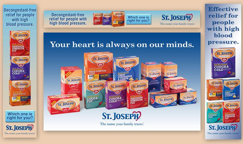St. Joseph High Blood Pressure Cough, Cold and Flu