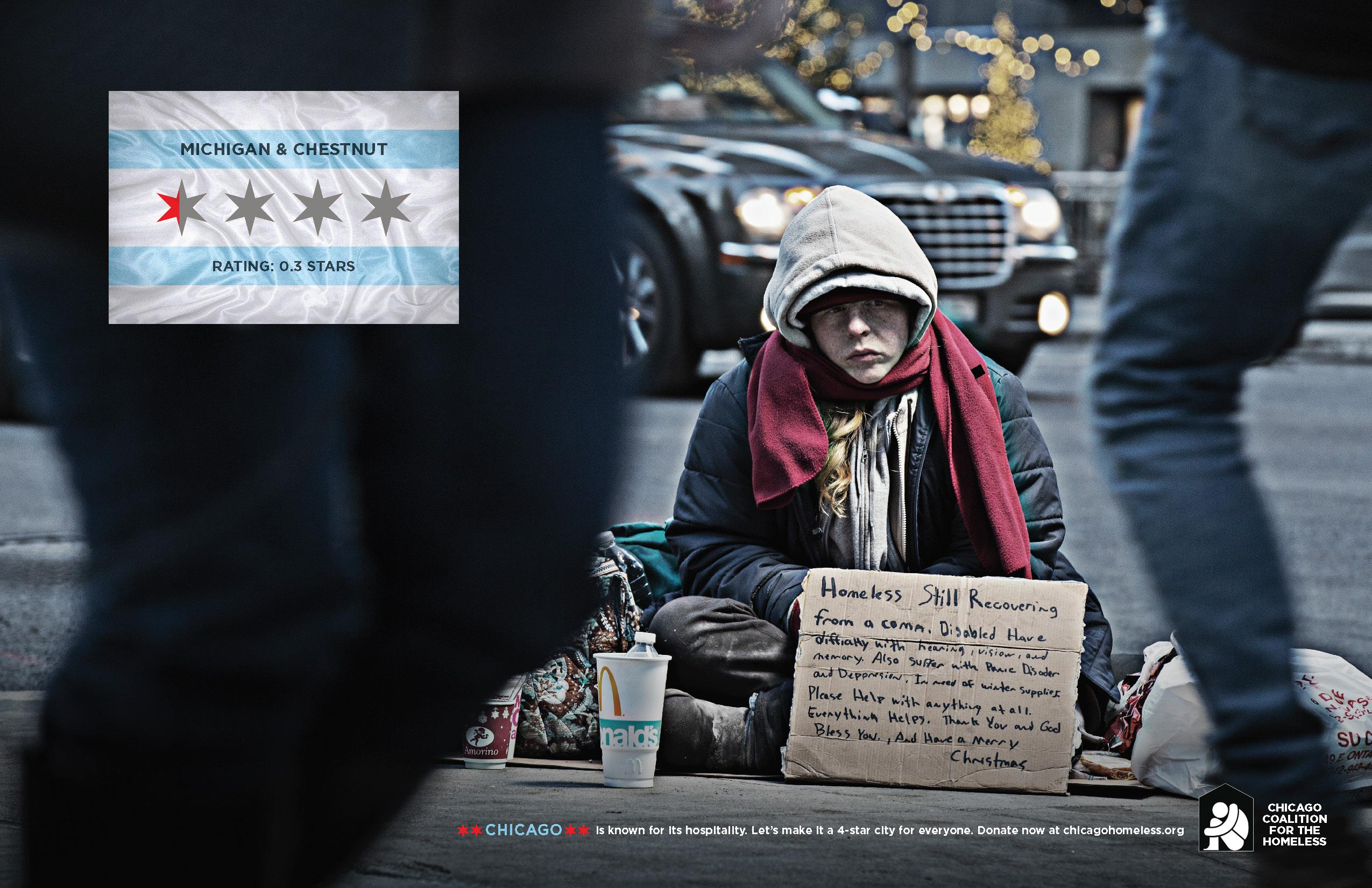 Chicago Coalition for the Homeless: How would you rate your city?