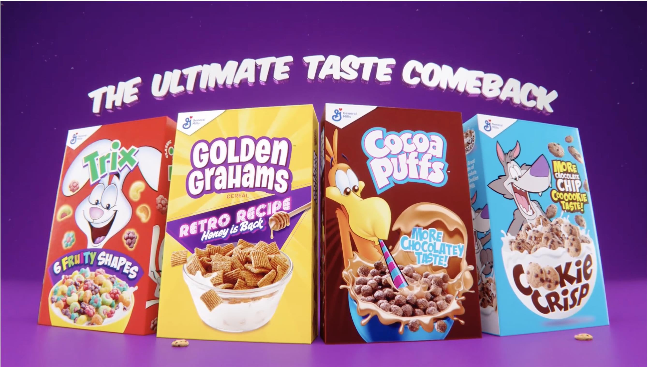 Throwback Cereals