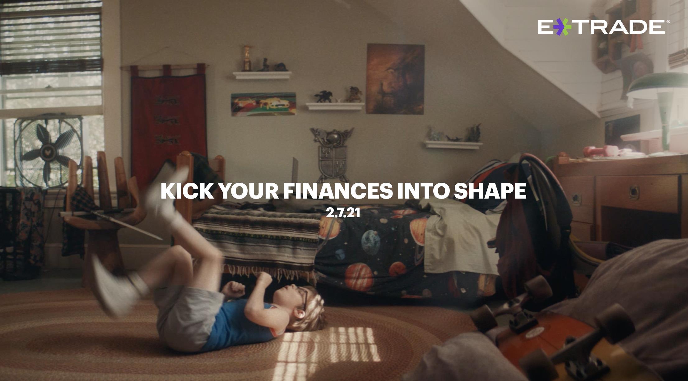E*TRADE Commercial – Workout - Full Spot