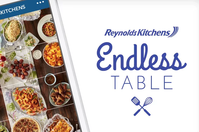 """Reynolds Kitchens, """"Endless Table"""""""