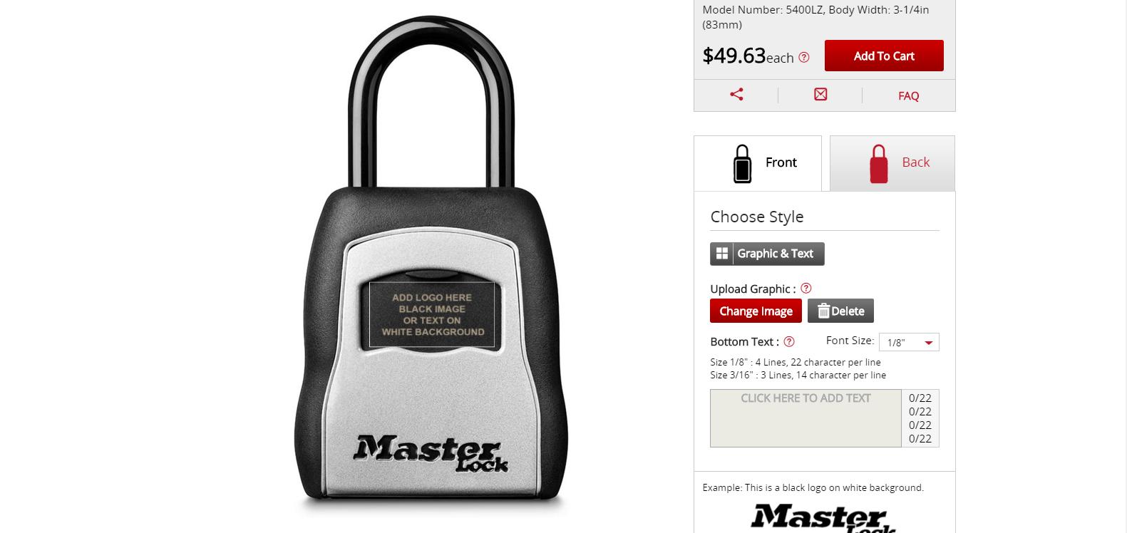 Master Lock Designer