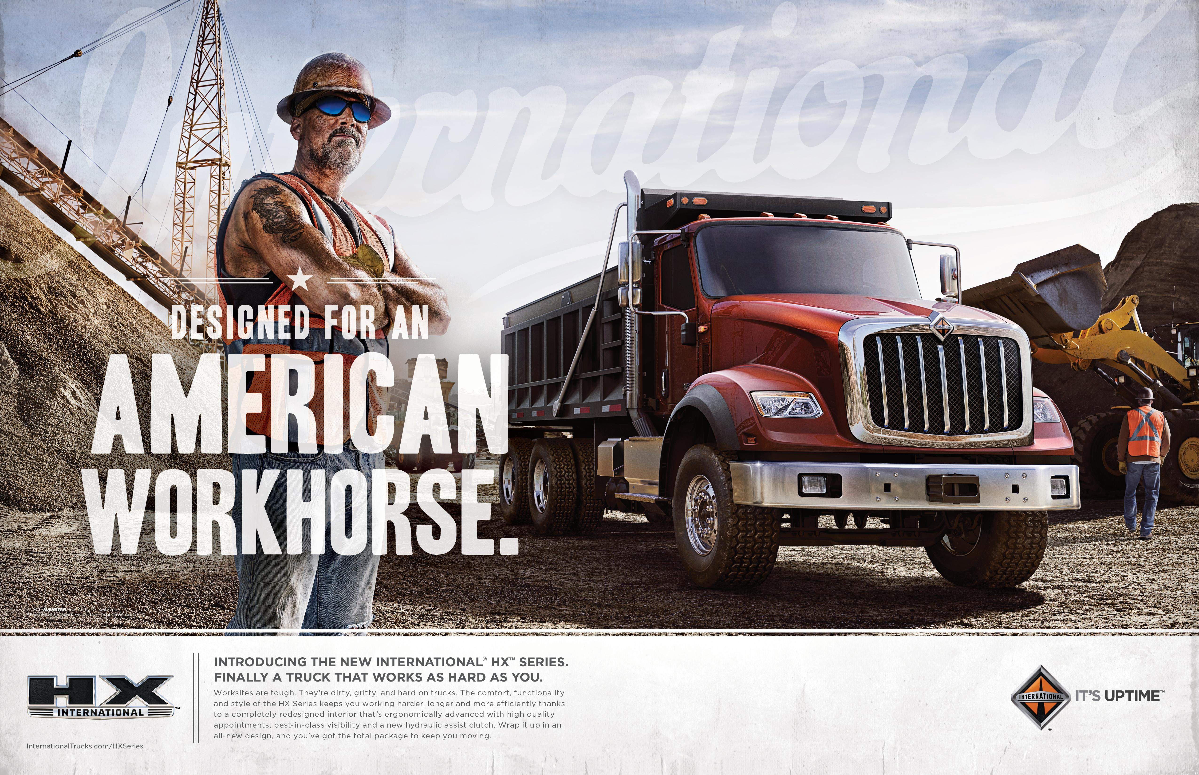 International Trucks: Designed for an American Workhouse