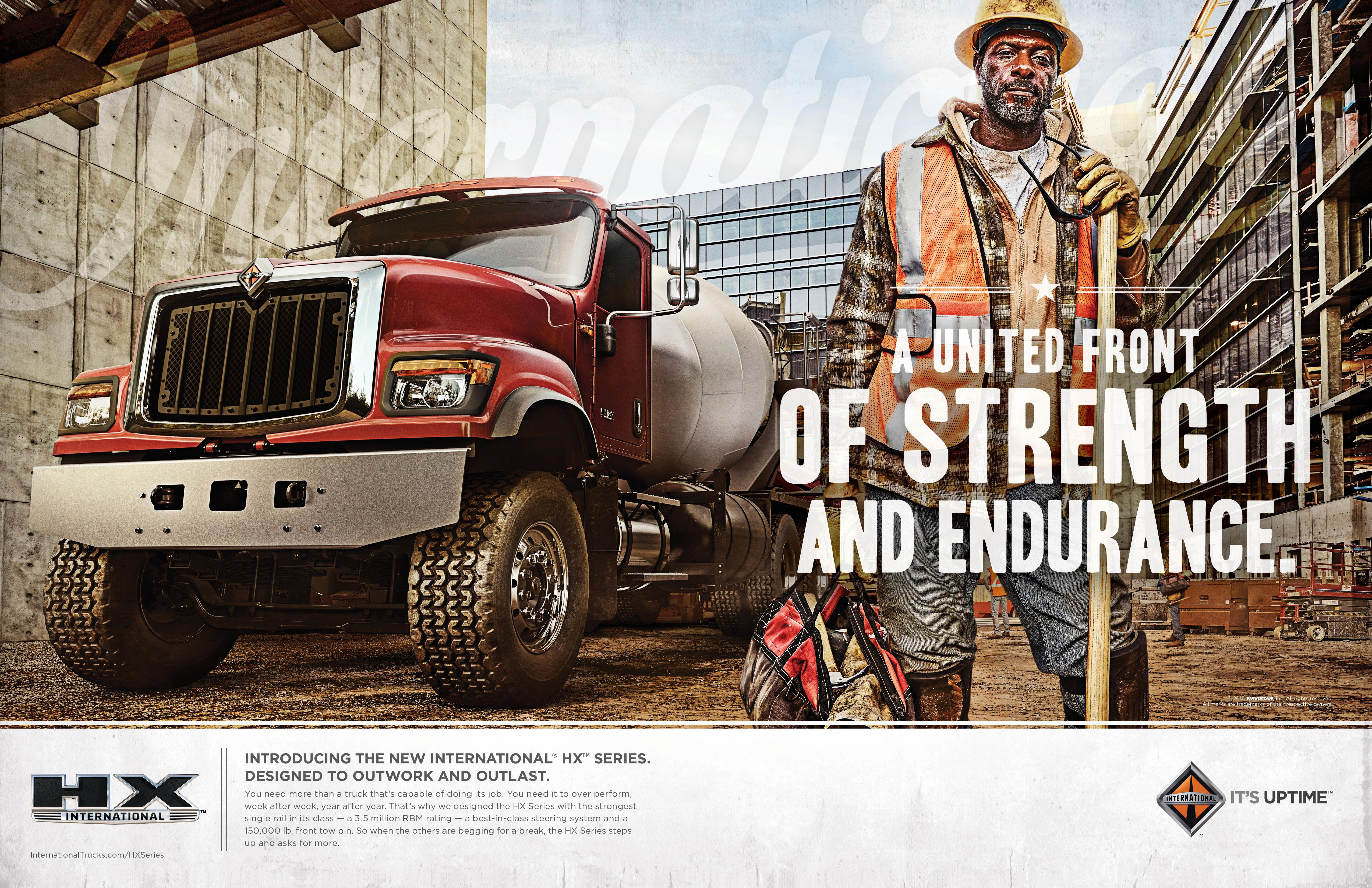 International Trucks: A United Front of Strength and Endurance