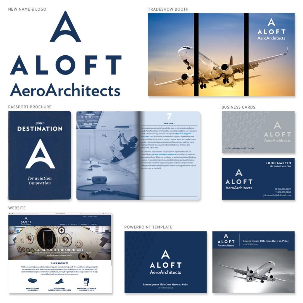 ALOFT AeroArchitects Brand Identity