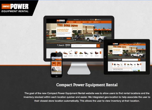 Compact Power Equipment Rental