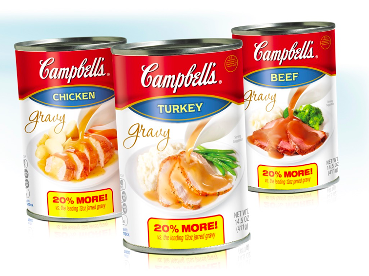 Campbell's Gravy Package Design