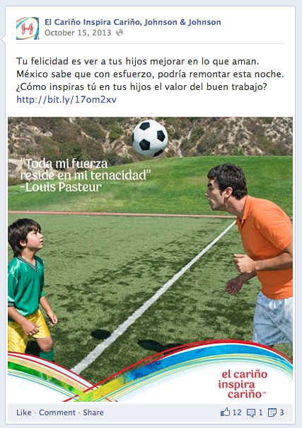 Johnson & Johnson - Spanish Social Ad