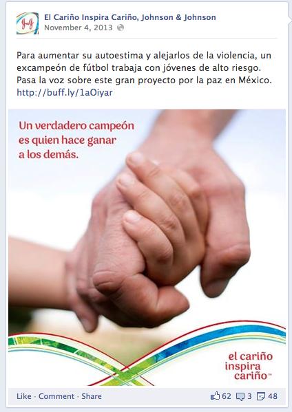 Johnson & Johnson - Spanish Social Ad (1)