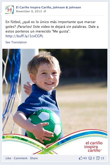 Johnson & Johnson - Spanish Social Ad (2)