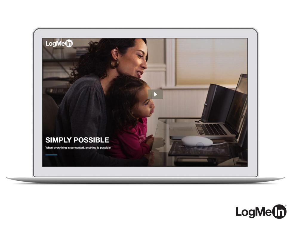 Reimagining LogMeIn's Digital Brand Experience
