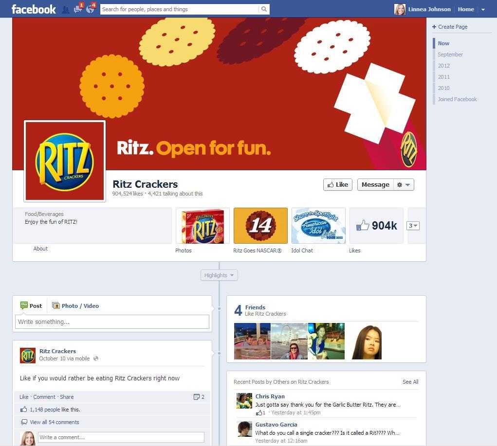 Ritz Facebook