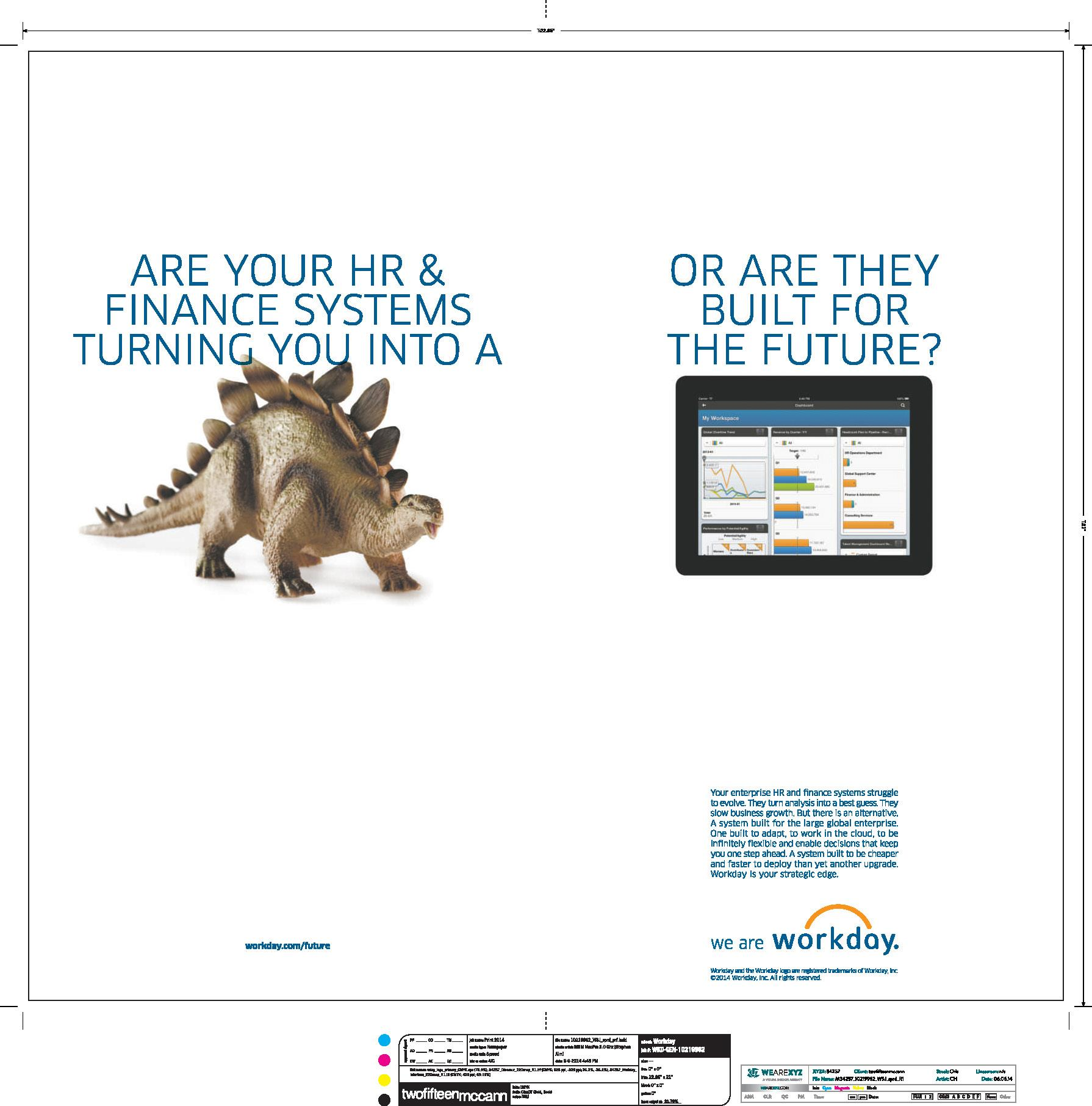 Workday Fortune Spread