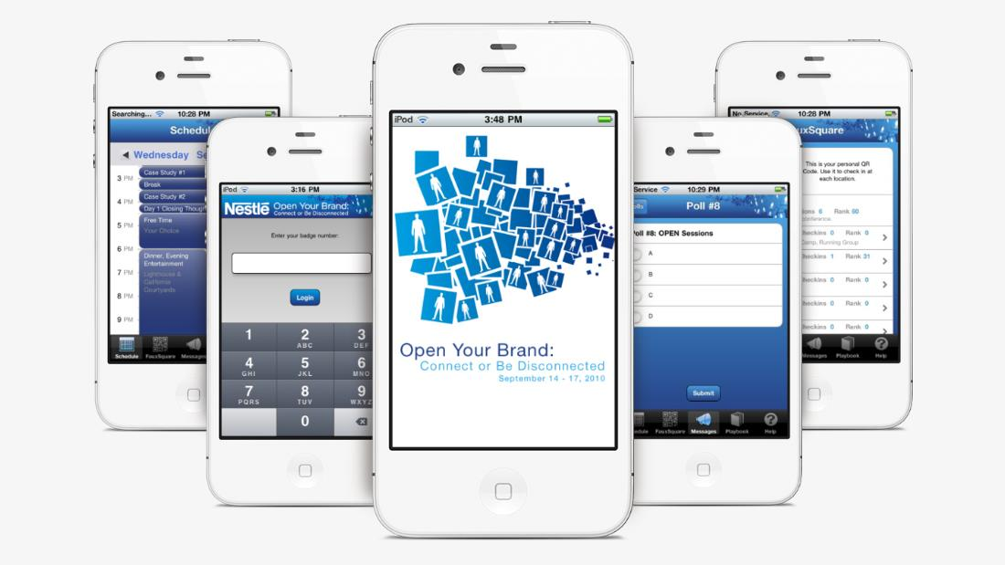 Nestle Executive Summit Event Mgmt App