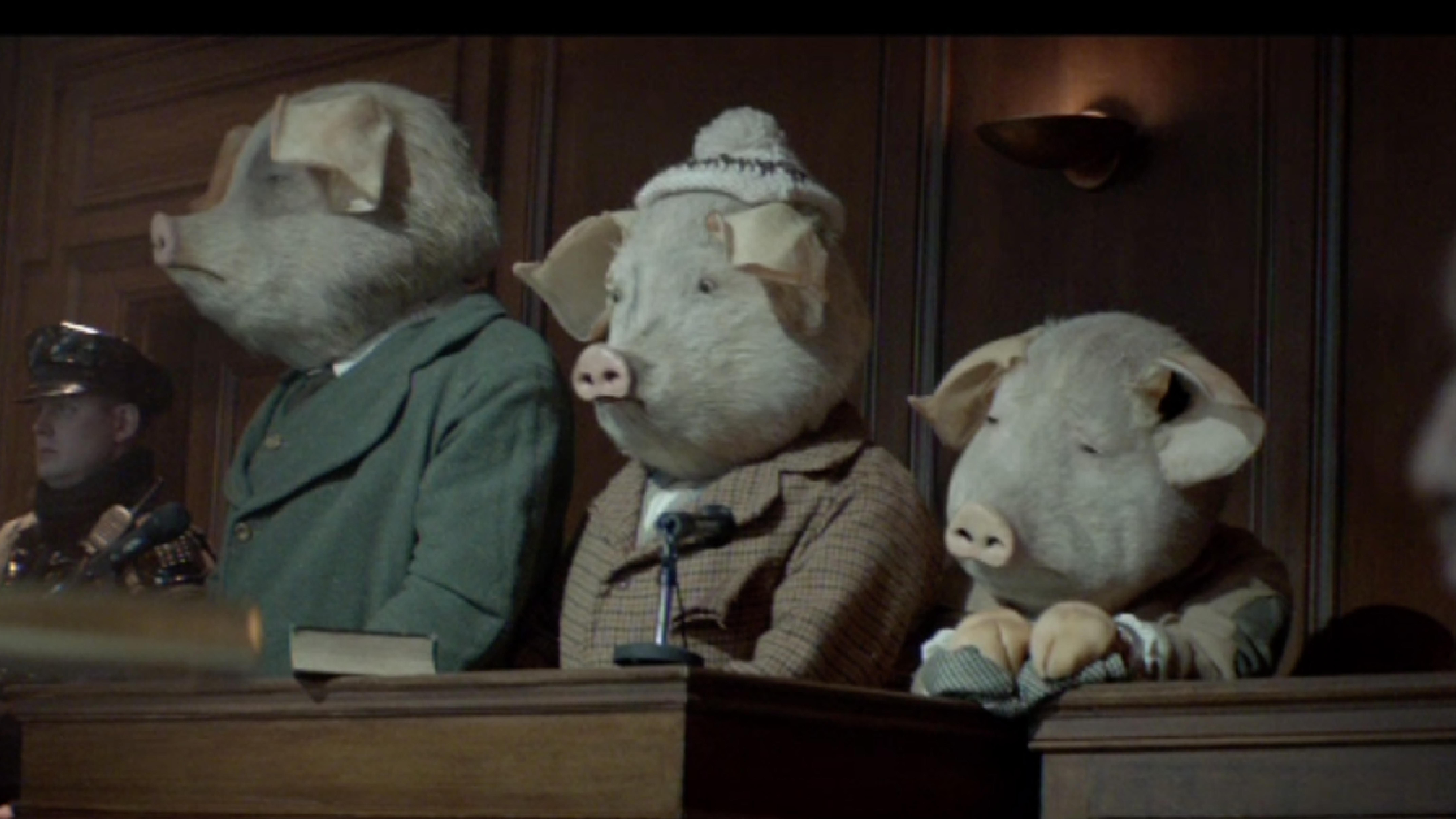 The Guardian: Three Little Pigs