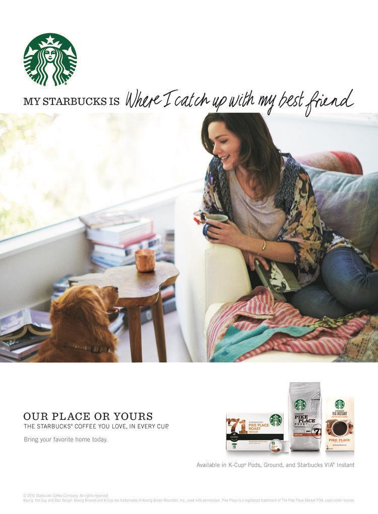 Starbucks At Home - Print