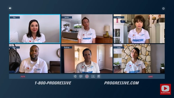 WFH | Role Play | Progressive Insurance Commercial