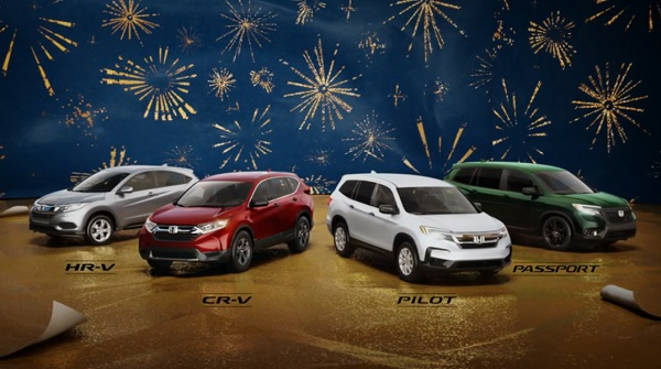 """Happy Honda Days – """"SUV Wrapping Paper"""""""