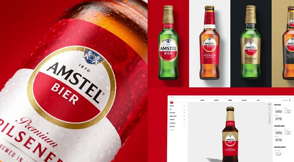 Amstel - Brand Identity - Elmwood London
