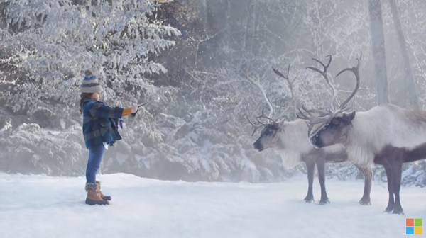 Microsoft: Lucy & the Reindeer