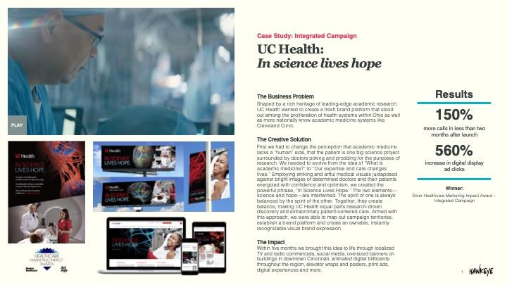 UC Health Integrated Campaign
